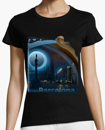 Camiseta Barcelona Chica