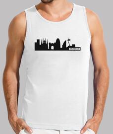 Barcelona ciudad skyline