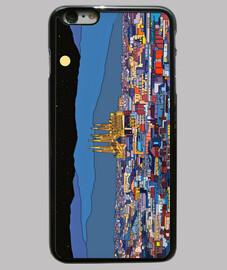 Barcelona Funda iPhone 6 Plus, negra