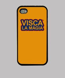 barcelona magique iphone 4, noir