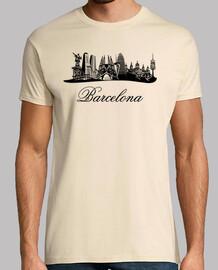 Barcelona Skyline (Spagna)