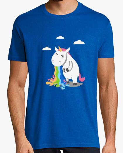 Barfing unicorn t-shirt