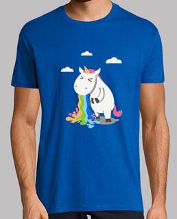 barfing unicorn