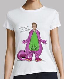 barney camiseta chica
