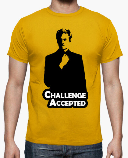 Camiseta Barney Stinson Challenge Accepted