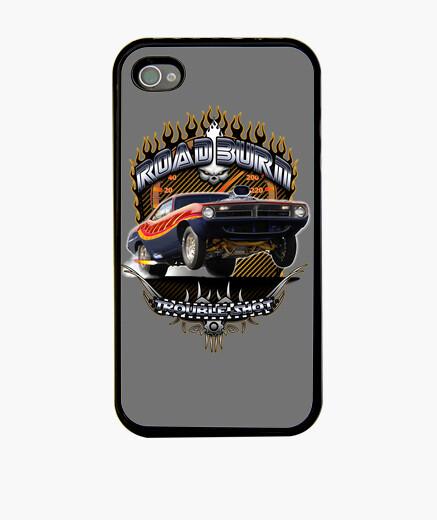 Funda iPhone Barracuda Road Burn Muscle car