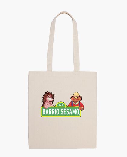 Bolsa Barrio Sesamo Espinete y Don pimpon