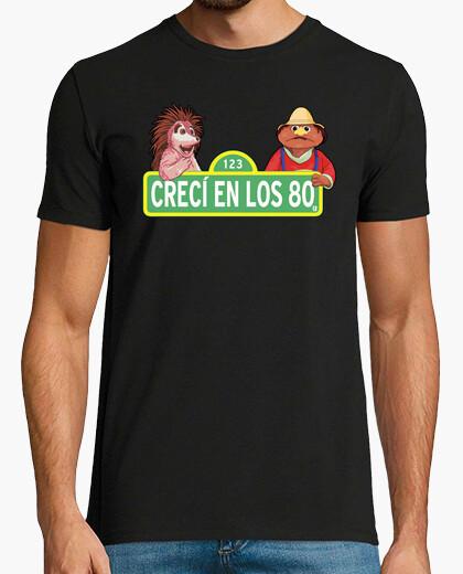 Camiseta Barrio Sesamo Espinete y Don Pimpon 80