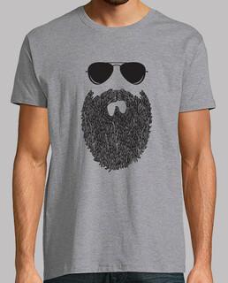 bart hipster brille mann geschenk
