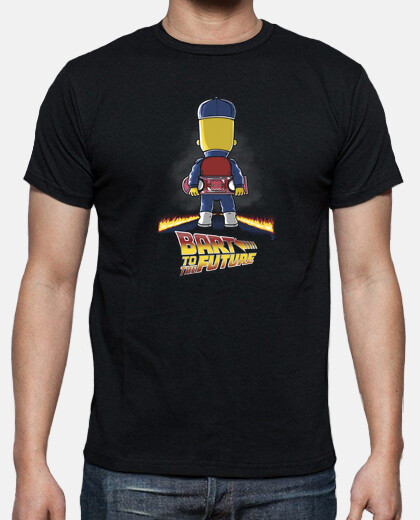 Camisetas Bart to the Future