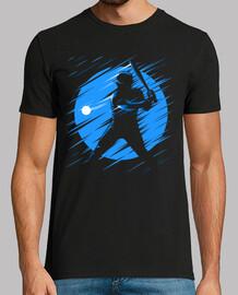 Baseball blue