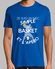 basket - un ragazzo semplice