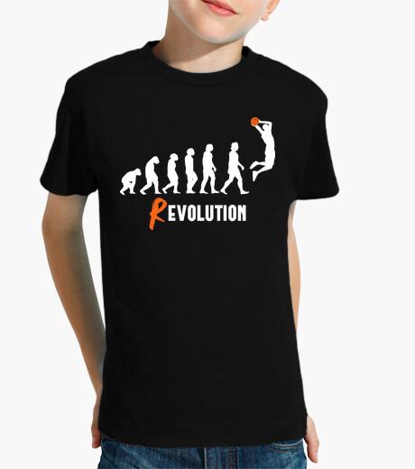 Abbigliamento bambino basket rivoluzione
