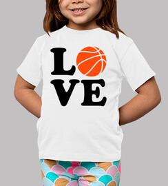 Basketball-Liebe