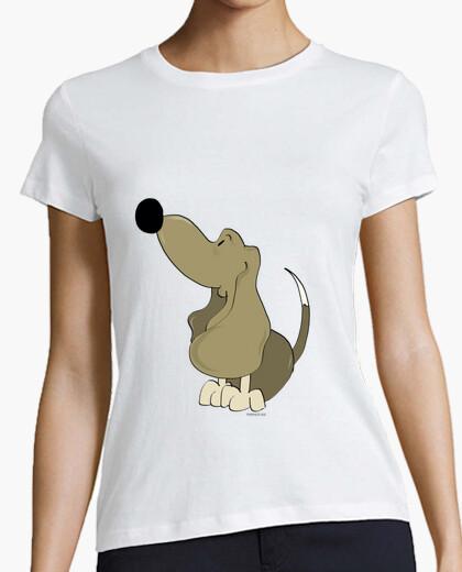 Camiseta Basset Chica