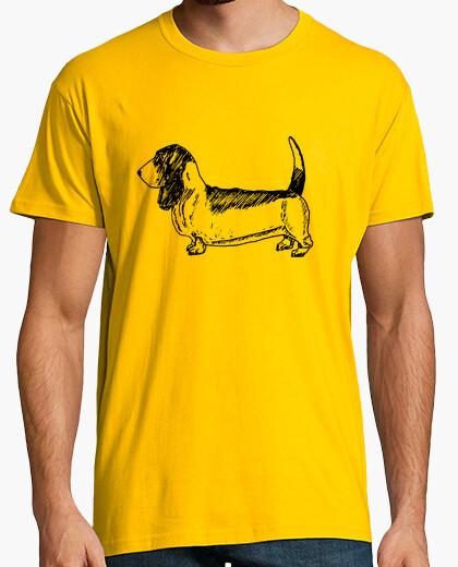 T-shirt basset hound