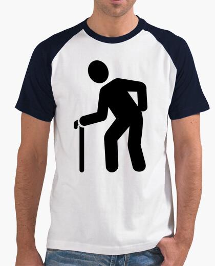 Camiseta bastón jubilado