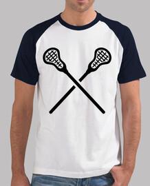 bastoni lacrosse incrociate
