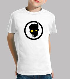 BAT POP Tee shirt enfant, manche courte, blanc