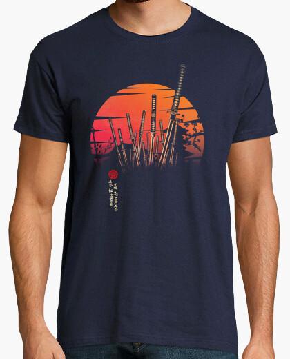 Tee-shirt bataille samouraï