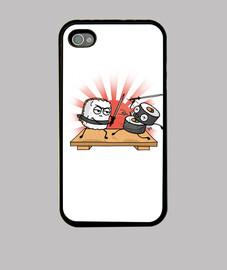 batalla de sushi samurai