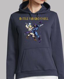 Batalla por Greyskull!! sudadera chica