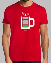 Bateria en el café