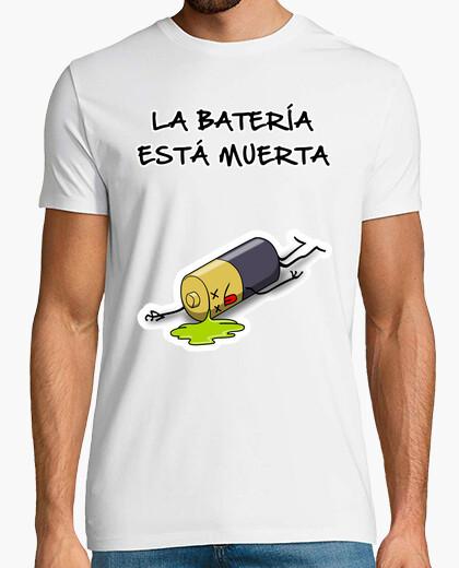 Camiseta Batería Muerta - 1