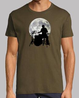 Bateria tocando a la luna