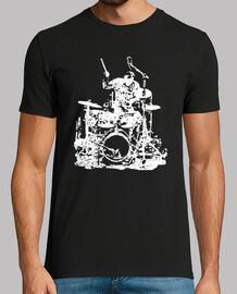 baterista en el escenario