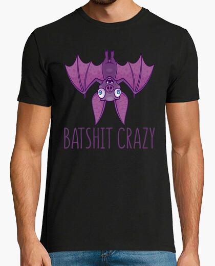 Batshit crazy wacky cartoon bat t-shirt
