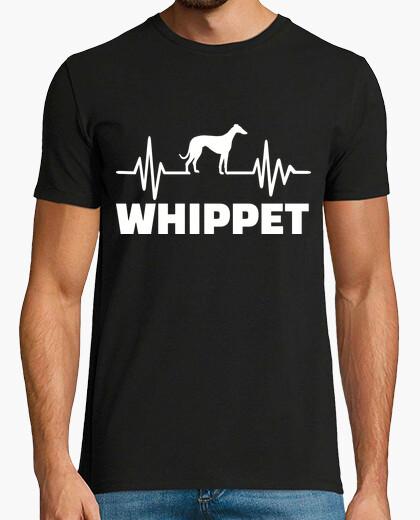 Tee-shirt battement de coeur whippet