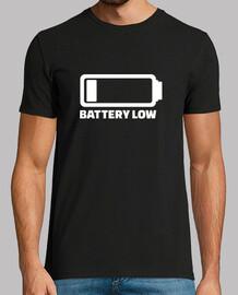 batterie faible