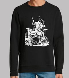 batterista sul palco