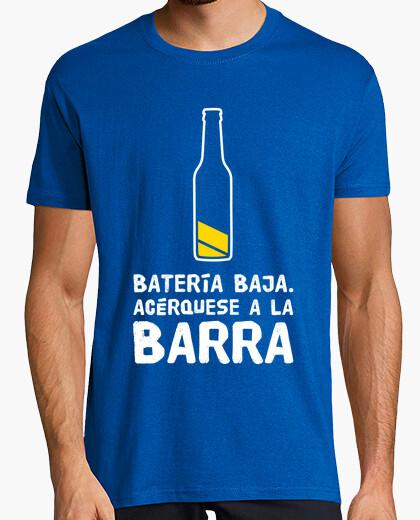 Battery beer t-shirt