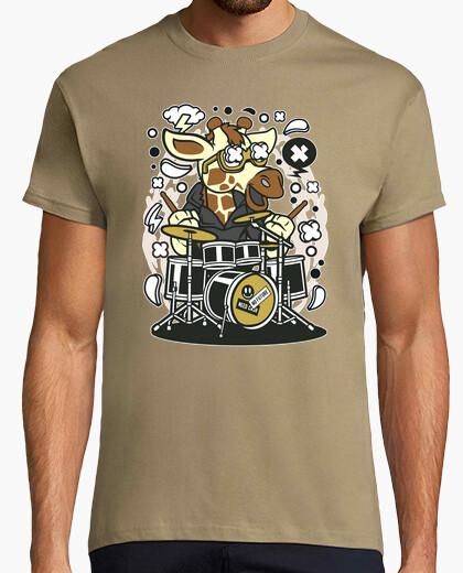 Tee-shirt batteur de girrafe