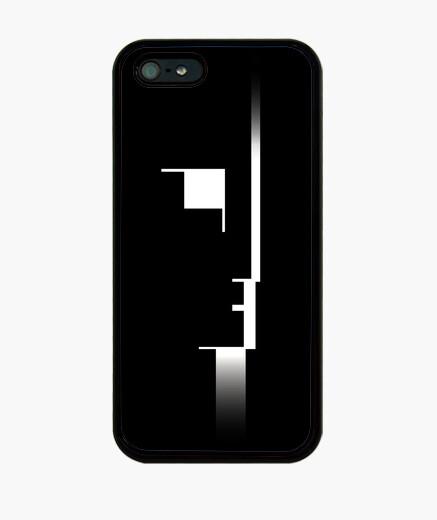 Funda iPhone Bauhaus Balck Retro