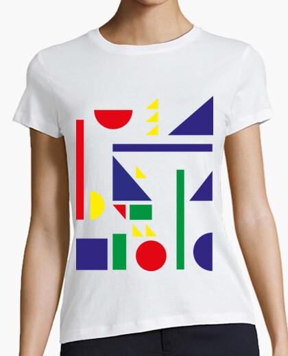 Camiseta bauhaus shapes