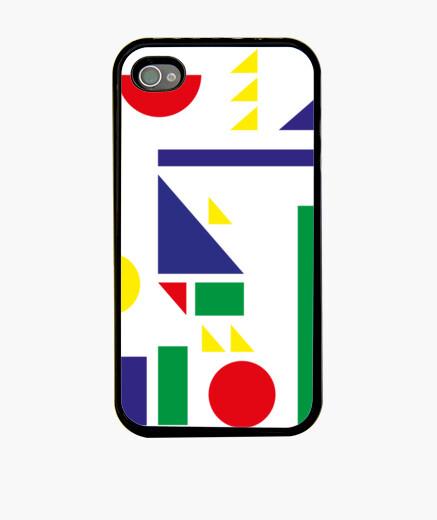 Funda iPhone bauhaus shapes