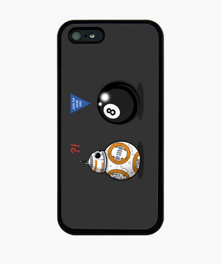 Coque iPhone bb8 rencontre 8 ball couverture iphone 5 / 5s, noir