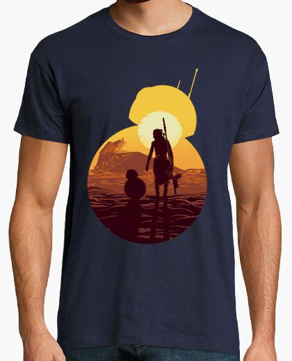Camiseta BB 8 & Rey