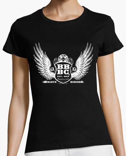 T-shirt bbbc brave bikers donna