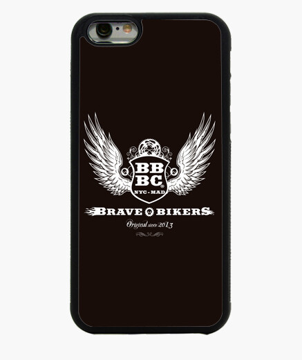 Funda iPhone 6 BBBC Brave Bikers Wings Phone