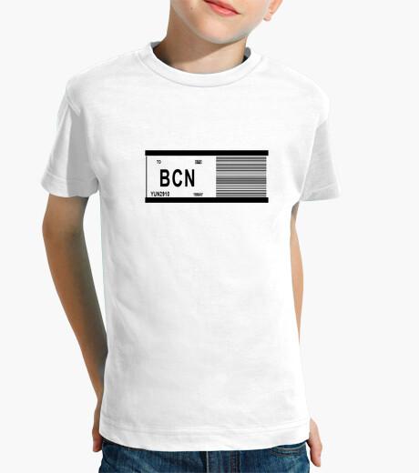 Ropa infantil BCN-TICKER #SpanishEvolution