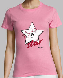 be a star t-shirt woman