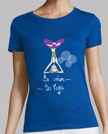 Be calm do yoga