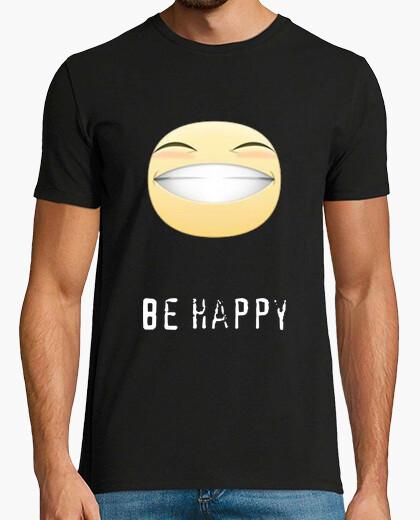 Camiseta be happy