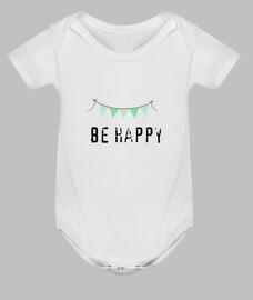 be happy, green pennants