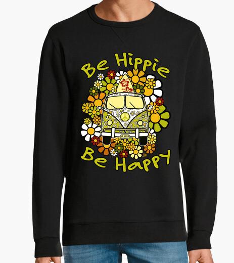 Sudadera Be Hippie Be Happy