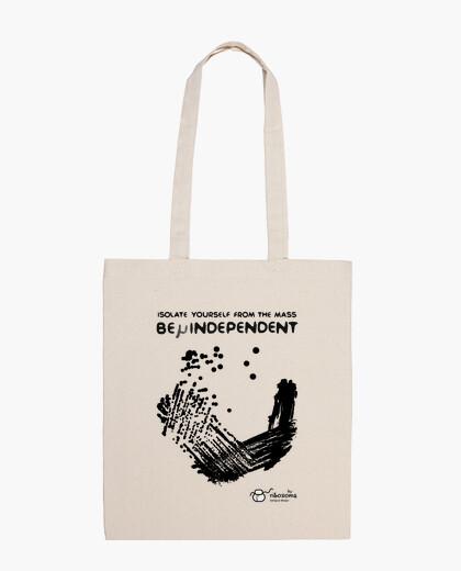 Bolsa Be μindependent (fondos claros)